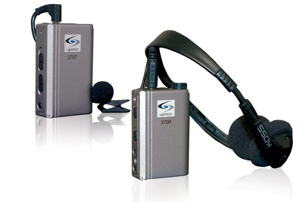 Les 370 2 Channel Personal Classroom Fm System 216 To