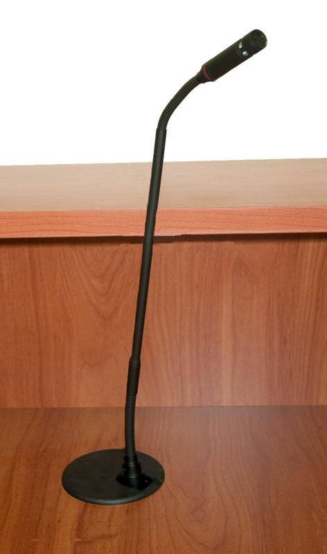 Mic Podium Microphone Exact Furniture Av Iq