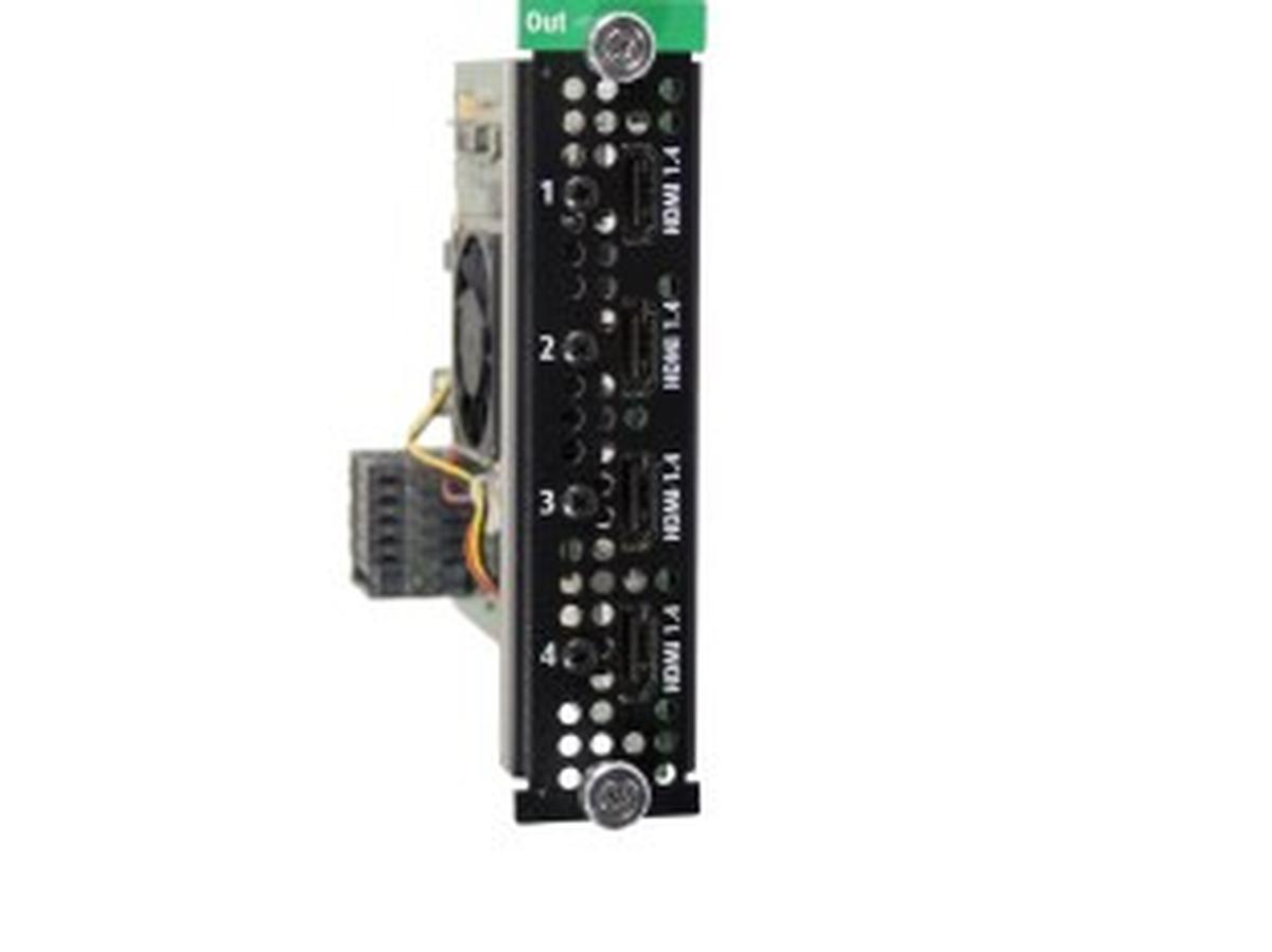 Hdmi 1 4 Output Card Hdmi 1 4 Output Card Barco Av Iq