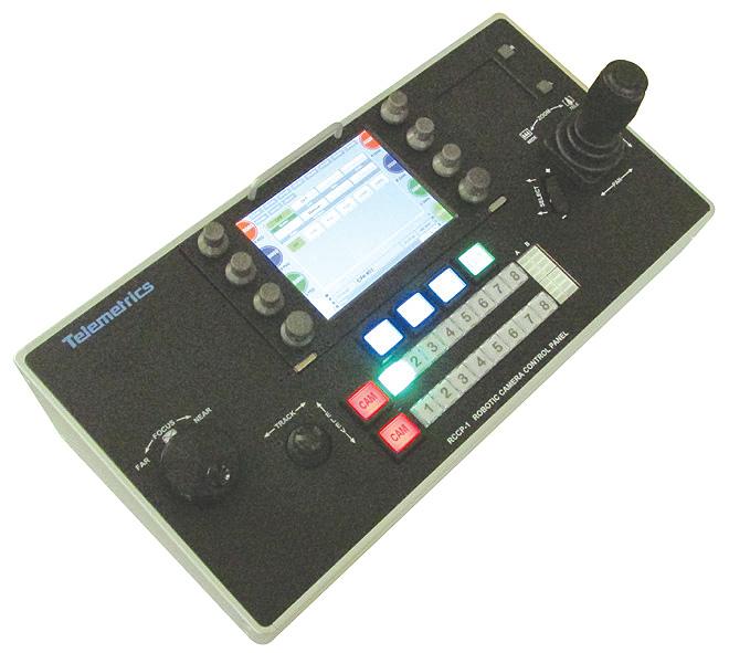 Rccp 1 Robotic Camera Control Panel Telemetrics Inc