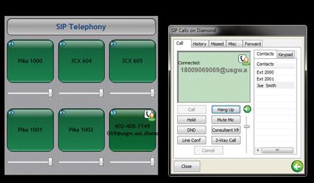 Telex - SIP - IP Phone Client
