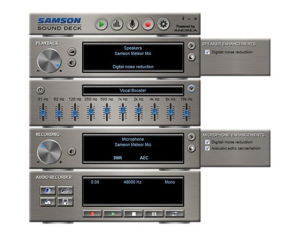 Samson Sound Deck Windows   Noise Cancellation Software
