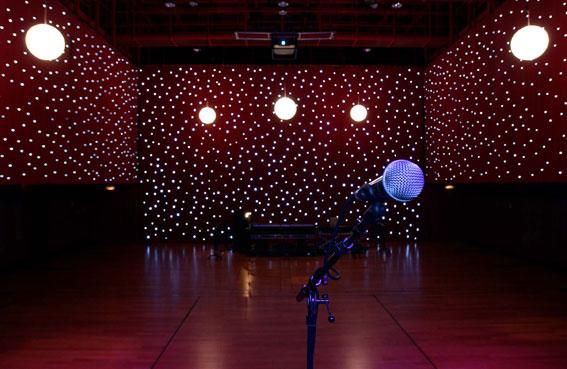 Beautiful Drape Kings   Show LED Star Drop Curtains