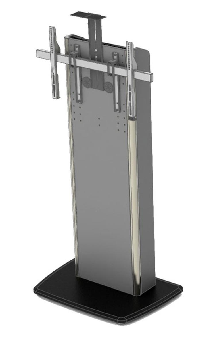 Exhibition Stand Lighting Xl : Tp xl sol stand for extra large displays soprano