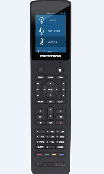 Tsr 302 B Handheld Touch Screen Remote Black Crestron