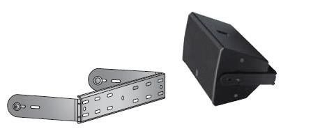 Ub2205w u bracket for if2205 w speaker white yamaha for Yamaha commercial audio