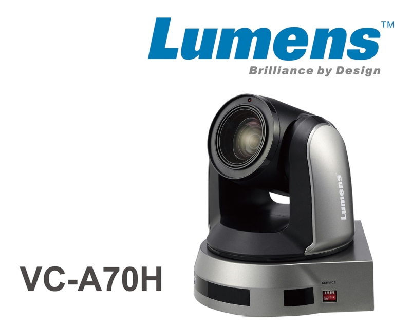 Vc A70h 4k Uhd Ptz Camera Lumens Integration Inc Av Iq