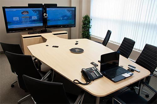 Vc Table T3 Video Conference Table With 1x Cr3000ex