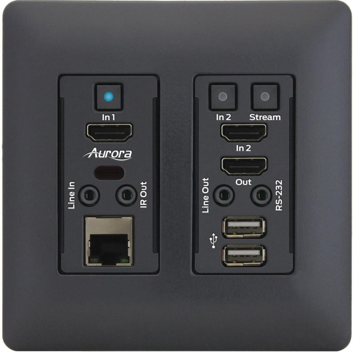 Vlx Tcw2h C B Av Over Ip 4k 1gbps Streaming Transceiver
