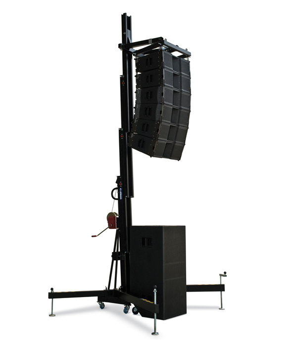 Wt 500 Four Extensible Profile Lifting Tower For Line