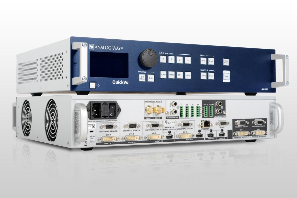 Analog Way - QVU150-3G