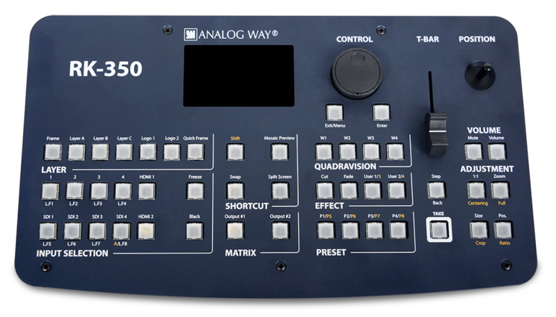Analog Way - RK-350