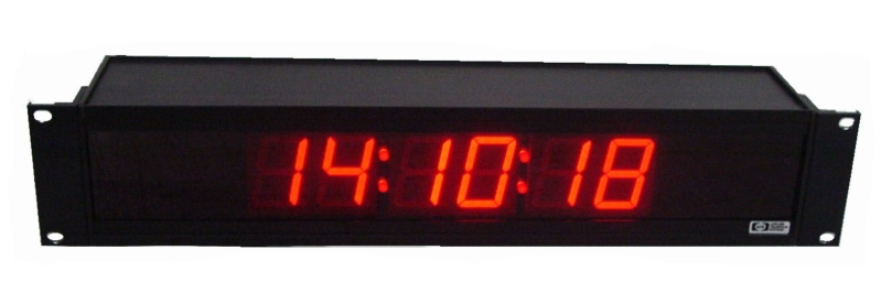 Cc186r 1 8 Inch 6 Digit Rs232 Controlled System Clock