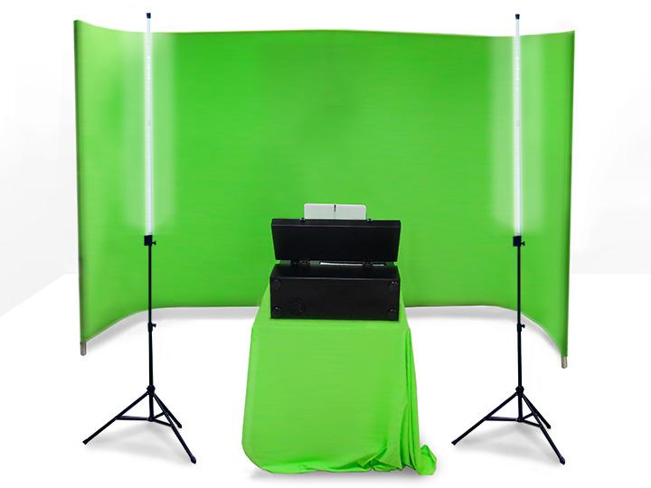 product image  sc 1 st  AV-iQ & Chromudio | Light-weight Green Screen Studio Lighting Kit | DARIM ... azcodes.com