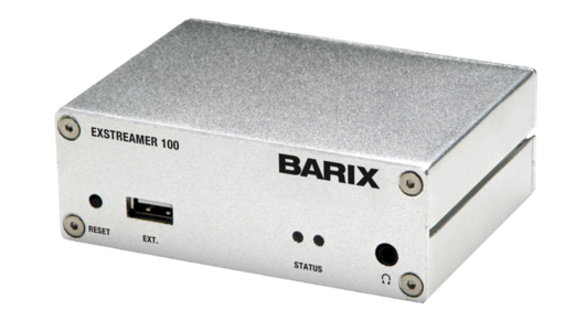 Barix AG - Barix Exstreamer 1XX