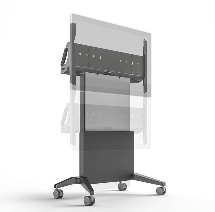 Stand Board Designs : Fps el cs gg electric lift mobile display stand for