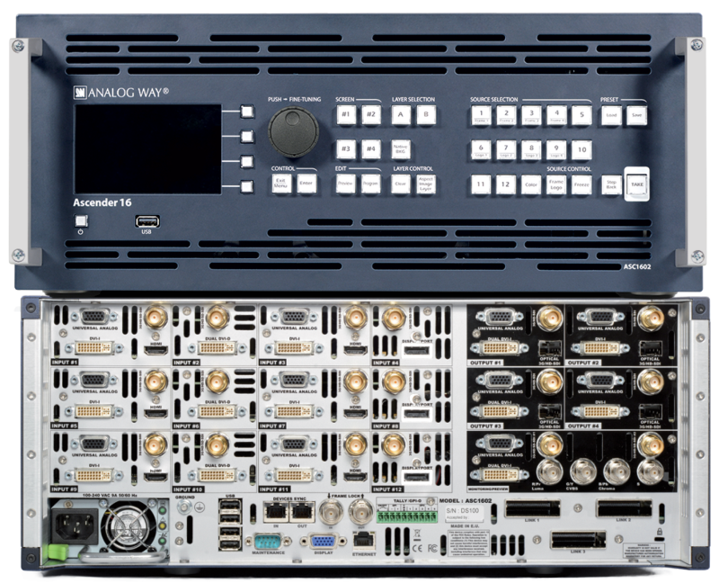 Analog Way - ASC1602-4K