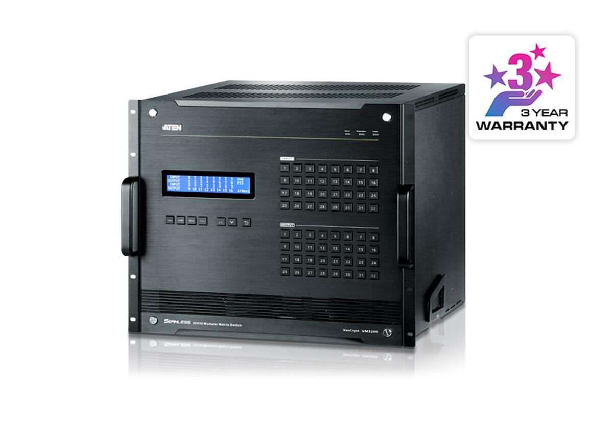 Vm3200 32x32 Modular Matrix Switch Aten Technology Inc