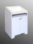 Marshall Furniture, Inc. - ELCO-25 in White Melamine