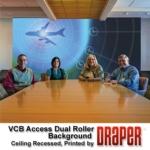 Draper, Inc. - VCB Dual Roller - Ceiling