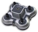 4-Position Silver Mini Stereo Jackbox