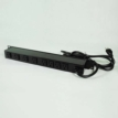 6ft 8-outlet 120V/15A Wiremold Rackmount Lighted Switch Power Strip