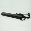 15ft 8-outlet 120V/15A Wiremold Rackmount Lighted Switch Power Strip