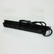 15ft 8-outlet 120V/15A Wiremold Rackmount Lighted Switch Computer Grade Power Strip