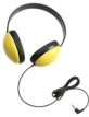 Listening First Stereo Headphone - Yellow Color