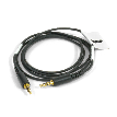 3.5mm-male -to- 3.5mm-male Attenuating Cable, 40in