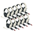 Classroom 10-Pack of Deluxe Stereo Headsets