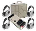 4-Person Infrared Cassette Learning Center with 4-headphones