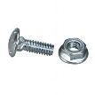 BasketPAC Cable Tray Nuts and Bolts, 50-Pack