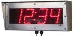 4-inch Outdoor Digital Clock