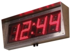 Outdoor Digital Clock with 8-Inch High Digits