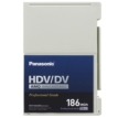 HDV/DV/DVCAM Compatible Advanced Master Cassette, 186 Minutes Recording Time