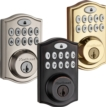 Kwikset SmartCode 914 Wireless Deadbolt with infiNET EX, Pushbutton Keypad, Polished Brass
