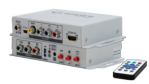 HDMI to Component/Composite and Digital S/PDIF or Analog Audio Scaler Converter
