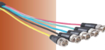 25ft 5 BNC Male to Male RGB-HV Mini Coax Cable