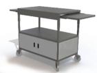 Dual Shelf Video Cart