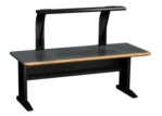 "72"" Wide Encompass-2 Desk with Light"