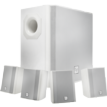 Surface Mount Subwoofer, White Cabinet