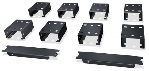 PB Busway Rack Mounting Drop-in Trough and Partition Brackets