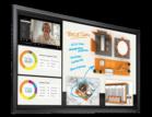 "55"" UHD Interactive LCD Flat Panel Display"