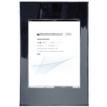 Secure iPad Mounting Frame with Camera Access, Chrome