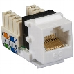 Pure Home Networking XTerm™ CAT5e Modular Keystone Jack, RJ-45/110, 8-Wire, T568A/658B, Electr