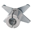 """Baby Drop Ceiling Mount with Baby 5/8"""" Receiver"""