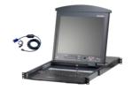 8-Port Dual Rail LCD KVM Kit