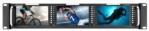 "5"" Triple Rackmountable Monitor with HDMI/3G-SDI/Composite Inputs"