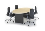 Oval-shaped Conference Table